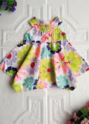 Нарядное хлопковое платье george