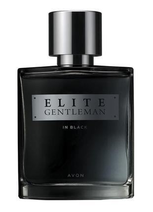 Парфюмированная вода elite gentleman in black