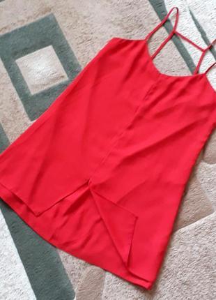 Шикарне плаття на тонких бретелях