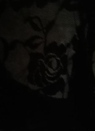 Платье в горошек с бантом кружево10