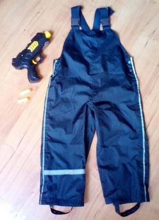 Непромокаемые,непродуваемые штаны, полукомбинезон, дождевик