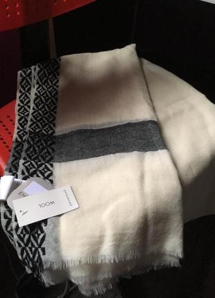 Шерстяной шарф promod(франция)