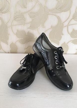 Кожаные туфли раз. 39,5