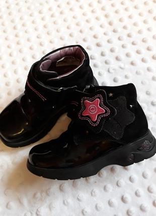 Ботинки с лед подошвой,светиться