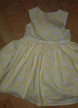 Платье в горошек next 861 фото