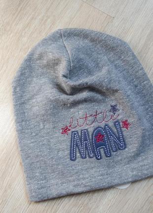 Лёгкая шапка на 42-44 см
