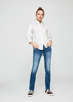 Отличные  брендовые голубые джинсы   из англии от yes london. размер европейский 36 ( s)