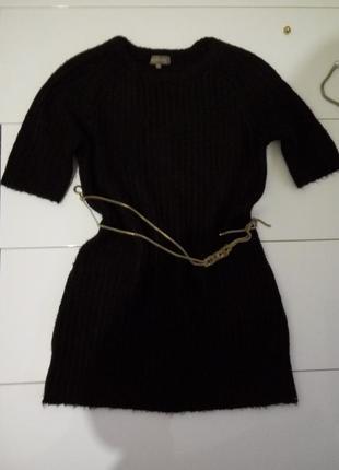 Платье, свитер удленненный