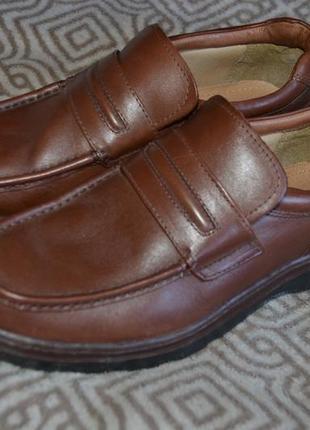 Мужские туфли clarks сост новых 28 см 43-44 размер сост новых