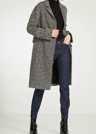 Женское шерстяное  брендовое  пальто  из америки от gap. размер женский м