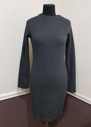 Теплое платье zara1