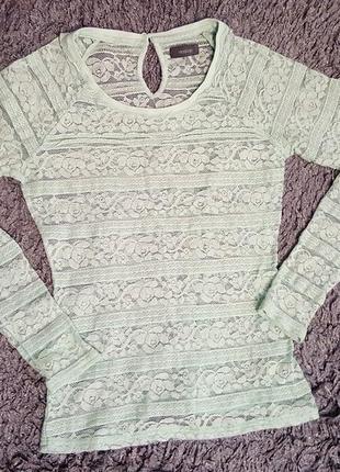 Кружевная кофта блуза yessica
