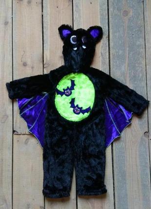 Карнавальный костюм вампир летучая мышь 1-2 года на хэллоуин