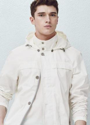 Мужская ветровка, куртка, курточка, windrunner, хлопок оригинал mango, размер l, 48