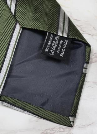 Обнова! галстук в подарочной упаковке сатин в полоску качество3