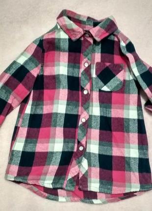 Крутая рубашка young dimension 9-12 месяцев