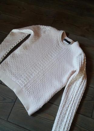 Базова кофта свитер з складником шерсті