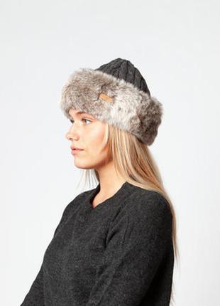 Меховай шапка- barts