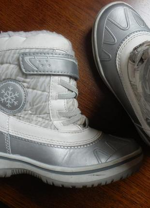 Зимние сапоги ботинки 30р 20см