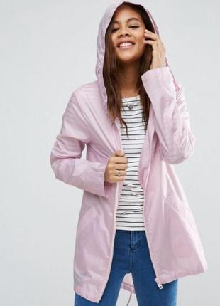Шикарная легкая розовая парка asos