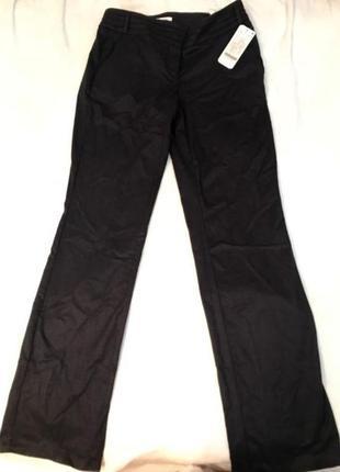 Штаны офисные брюки чёрные прямые orsay новый с этикеткой , р. 38/46/м