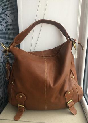 Кожаная сумка varese