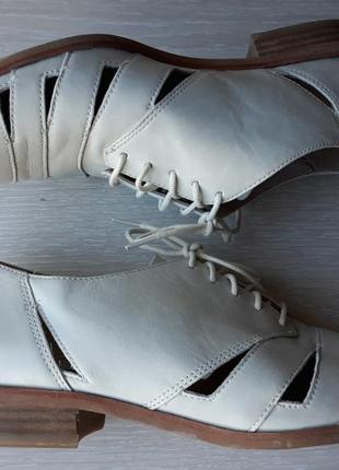 Туфли кожаные clarks размер 39