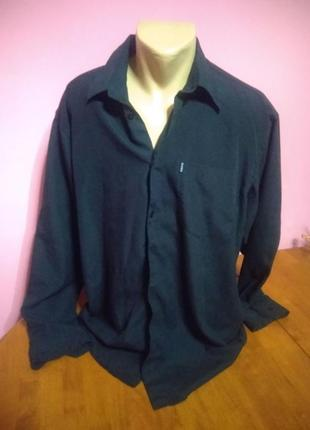 Класична  чорна  сорочка /рубашка bison