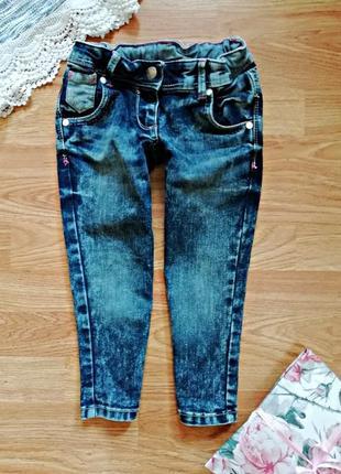 """Детские джинсовые капри - бриджи """"варенки"""" palomino - рост 104-110 см"""