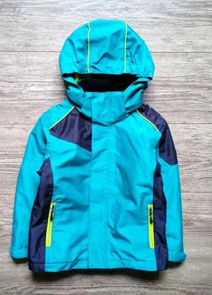 Демисезонная термо куртка crane 5-6 лет.