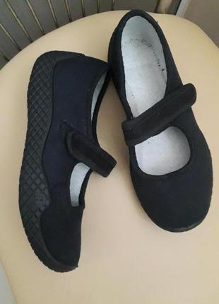 36 р. новые ортопедические мягкие текстильные туфли балетки тапочки