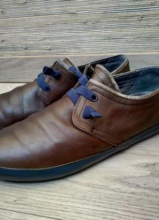 Camper кожаные туфли мокасины кеды
