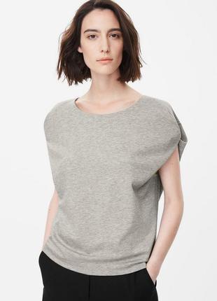 Стильная блуза-топ с необычными рукавами cos, m