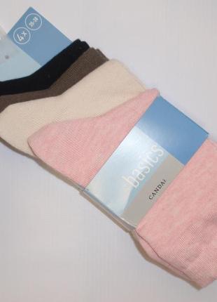 Набор носков - 4 пары - носки хлопок бренд c&a германия