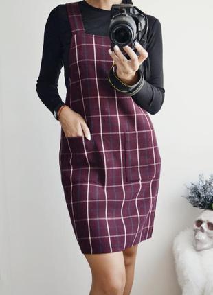 Шикарный теплый сарафан-платье new look
