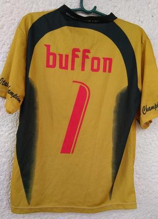 Футбольная футболка буффон buffon сборная италии italy