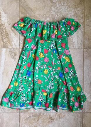 Платье на девочку 7-8л