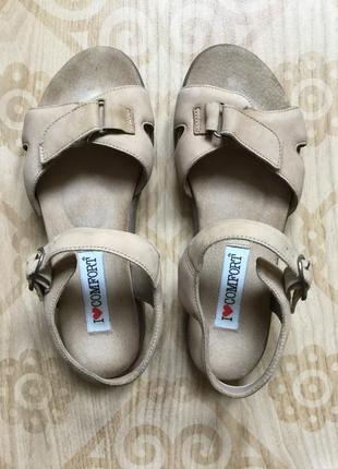 I love comfort сандалии высокого комфорта кожа р-р 36 23.5см
