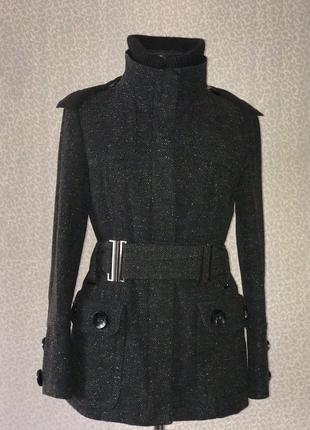 Тёплая куртка пальто zara