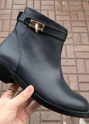 Стильные демисезонные ботиночки натуральная кожа люкс качество по очень хорошей цене!!!