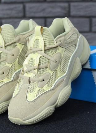 Крутые кроссовки унисекс лимонного цвета