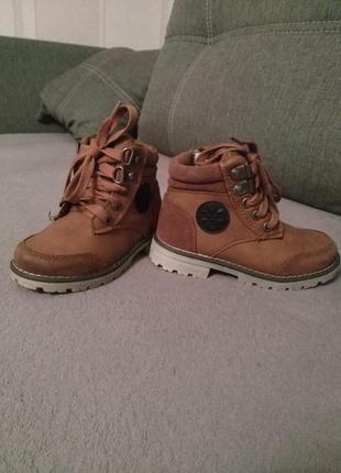 3f73d7ca0 Детские демисезонные ботинки на мальчика lupilu 24 р., цена - 100 ...