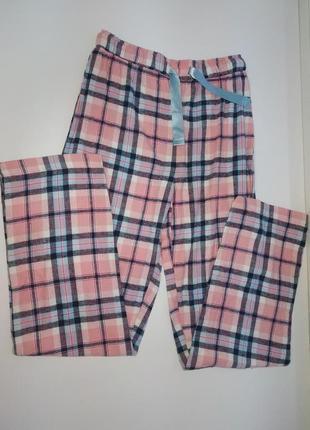 Пижамные байковые штаны на девочку 134-140 см германия