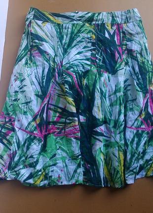 Легкая летняя юбка миди gerry weber
