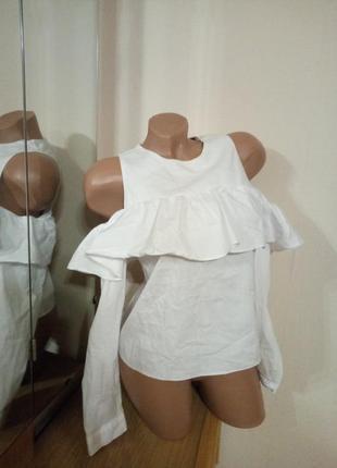 Белоснежная блуза ns