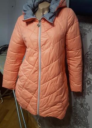 Увага!!!супер оригінальна весняна куртка на 46-48р