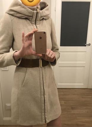Пальто zara размер м