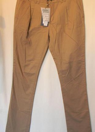 Жен.бежевые брюки чинос vero moda