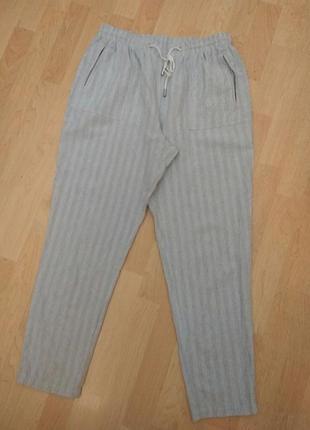 Брюки спортивные  штаны повседневные  джоггеры чиносы оверсайз манжет резинка