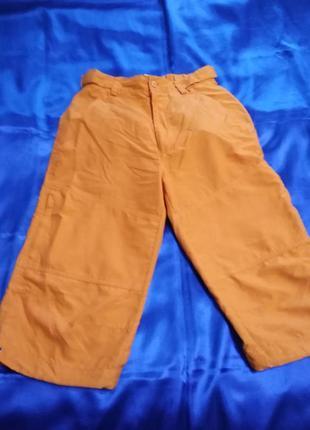 Ярко-морковные бриджи  dsix / doublesix  s